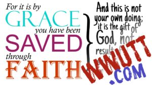 by grace you have been saved through faith