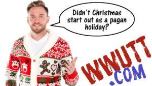 did christmas start as pagan holiday