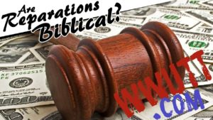 what does bible say about reparations